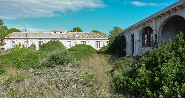 lazareto de mahon abandono edificios